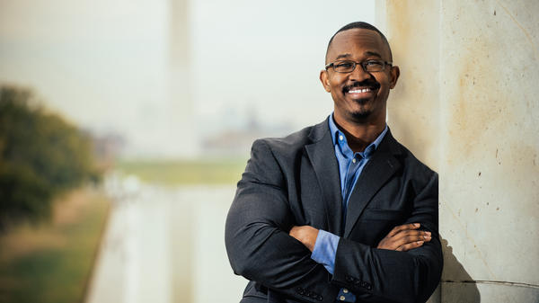 "Joshua Johnson is ""cocreator and host of the provocative nationwide public radio series, <em>Truth Be Told, </em>which explored race in America,"" member station WAMU wrote in a press release. He will be the host of <em>1A, </em>the new show taking over the time slot currently held by <em>The Diane Rehm Show.</em>"