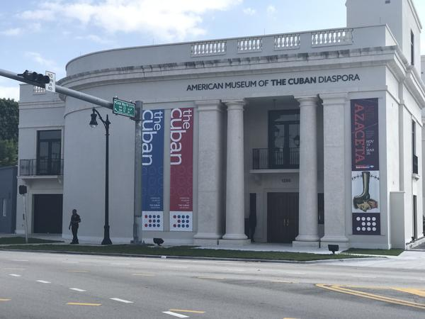 The American Museum of the Cuban Diaspora, located at 1200 Coral Way in Miami.