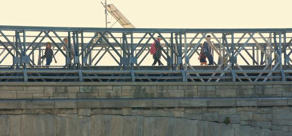 Pedestrian Bridge slated for replacement.