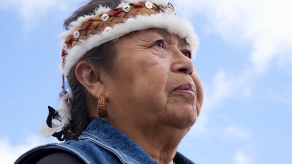 <p>Mary Kay Leitka is an elder of the Hoh Tribe, whose reservation is on Washington's Olympic Peninsula. She says the Navy has not adequately considered tribal concerns about noise and environmental impacts of its growler jets.</p>