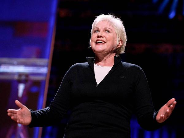 """I felt so lucky to be Catholic and I loved the Catholic school and I loved the nuns ... then when it came to the belief part of it I was always a little bit skeptical"" — Julia Sweeney"