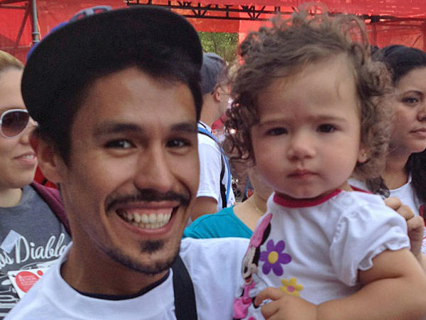 "Francisco Vasquez says his niece, Ellie, and his sister's battle with cancer have transformed his life ""forever."""