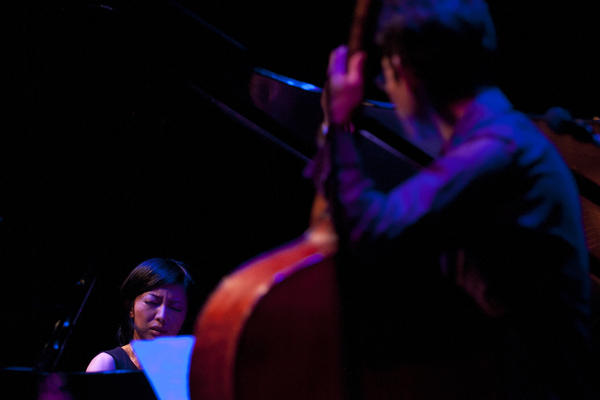Chihiro Yamanaka performs at the Kennedy Center during the Mary Lou Williams Women in Jazz Festival.