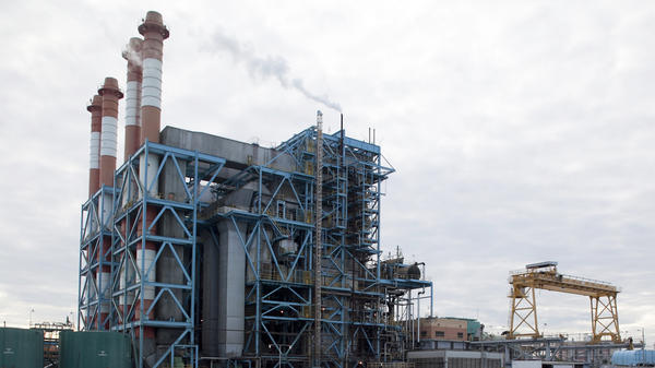 PREPA's Central Palo Seco power station in San Juan, Puerto Rico. The utility's bondholders want to raise rates. That's a challenge when the median income is about half that of Mississippi, yet the U.S. territory's energy costs are among the highest in the nation.
