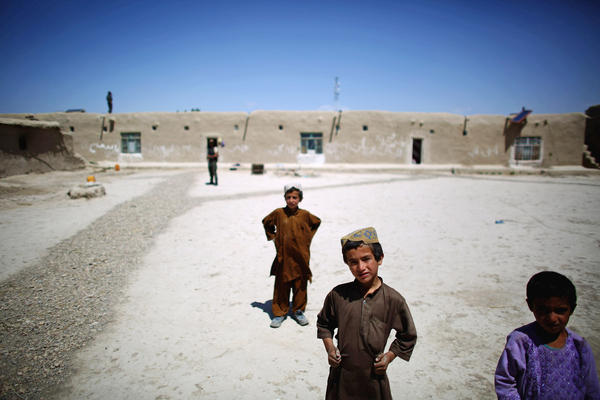 <p>Village resident Haji Abdul Bari says the Taliban come into the village at night, looking for food and water. They meet in the mosque, and when day breaks, they slip back into the hills. His village is more secure because it's near an army outpost, Abdul Bari says.</p><p><br /><br /></p>