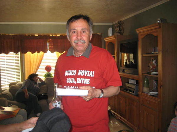 Gerardo Arche-Felix celebrates his birthday in 2008 at a relative's home in Utah.