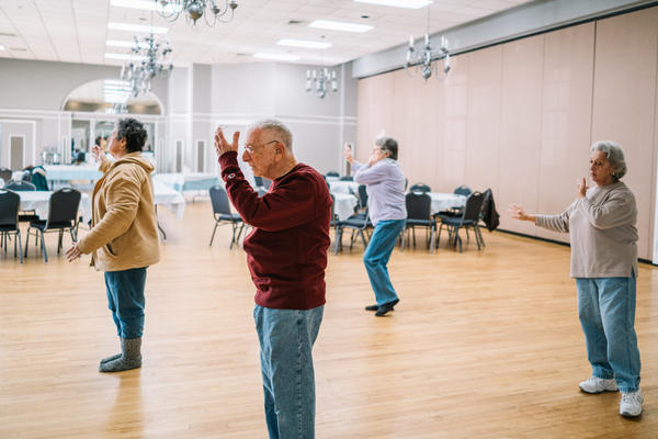 It's been seven years since Pollner had surgery for lung cancer. He's now 82 and takes Tai Chi classes three times a week at the local synagogue.