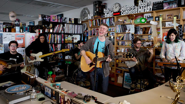 Tiny Desk Concert with Pinegrove.