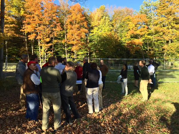 In mid-October, Hanover residents gathered at the Rennie Farm site to learn more about plume of 1,4-dioxane that has contaminated at least two drinking wells. The chemical is one of 10 that the EPA will be researching under new federal legislation.