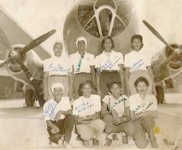 """<p>""""These are the Rosie the Riveters that we don't really talk very much about,"""" says Professor Quintard Taylor, a leading expert on African-American history in the West.</p>"""