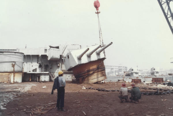 <p>Hundreds of World War II ships were dismantled at the Zidell site on Portland's South Waterfront.<br /><br /><br /></p>