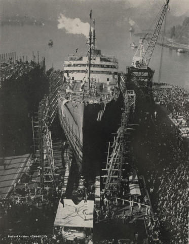 <p>President Roosevelt called for a seven-day work week to build ships even faster to win the war.</p>