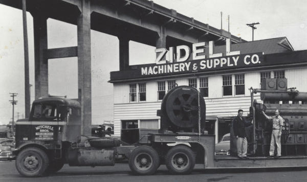 <p>The Zidell ship-breaking business grew out of Sam Zidell's company Zidell Machinery & Supply.</p>