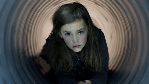 Pili Groyne as Ea in <em>The Brand New Testament,</em> a film by Belgian director Jaco Van Dormael.<em> </em>