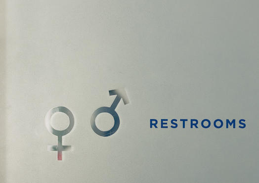 A news study says laws that would keep people from using bathrooms according to their gender identity would be bad for business.