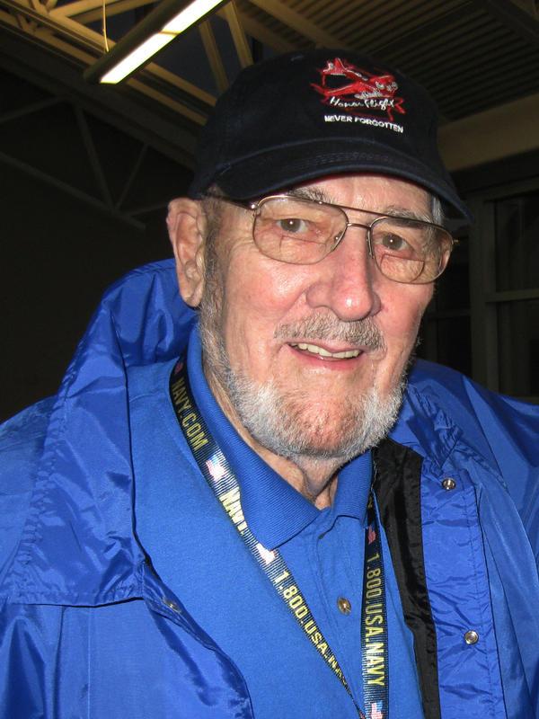 Will Lehner, a Pearl Harbor veteran, attends an honor flight trip in 2010.