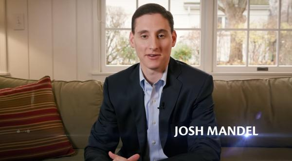 Ohio Treasurer Josh Mandel in video to announce U.S. Senate run.