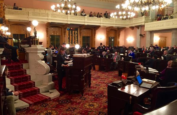 Ohio House and Senate go late into the night to finish work before end of the year.