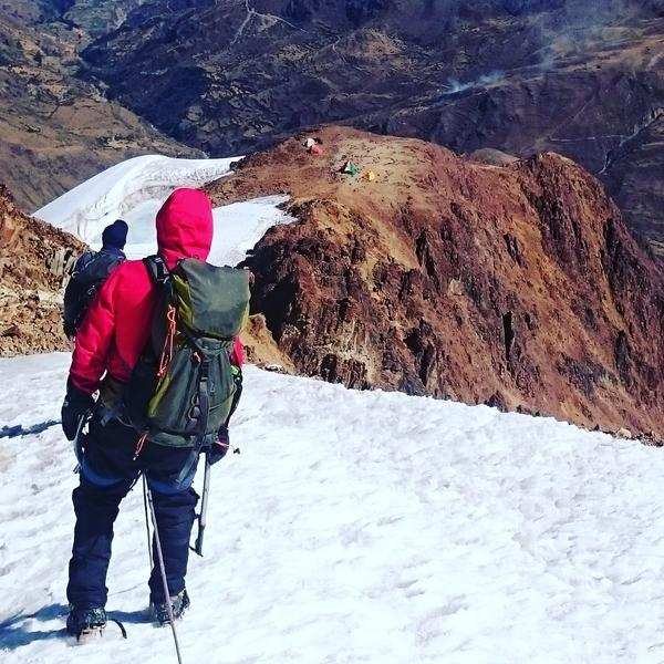 Dan Futrell and Isaac Stoner climbed Mount Illimani in Bolivia to find the black box from Eastern Air Lines Flight 980.