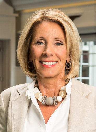 DeVos' PAC was fined eight years ago, but never paid