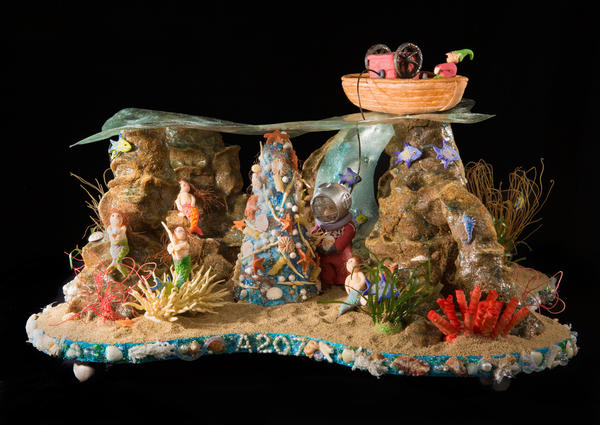 The National Gingerbread House Competition allows the entry of any edible sculpture — it doesn't have to have a holiday theme.