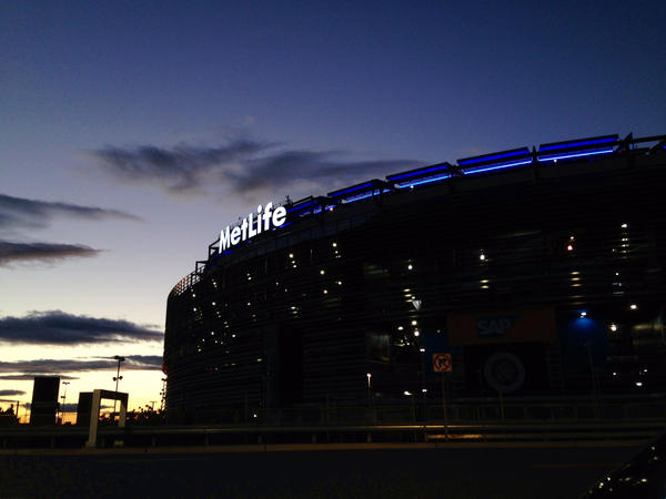 Did the sun set on the Lions' playoff hopes at MetLife Stadium on Sunday?