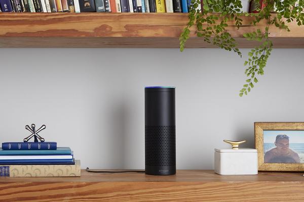The Amazon Echo. (Courtesy Amazon)