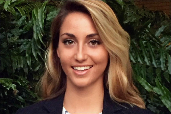 Stephanie Radu was named Outstanding Graduate on the USF Tampa campus for Fall 2016.