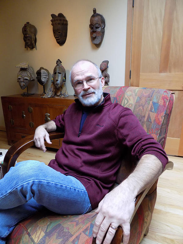 Anthropologist Jim Chatters found most of Kennewick Man's bones in the shallows of the Columbia River, after two students had discovered the skull.