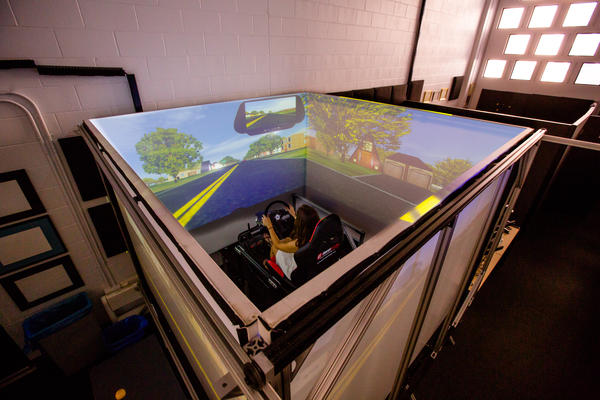 Driving Simulator at the Center for Engineering Design and Applied Simulation (CEDAS)
