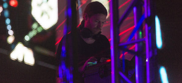 Richard D. James, aka Aphex Twin, made his first U.S. appearance in eight years at Houston's Day For Night festival.