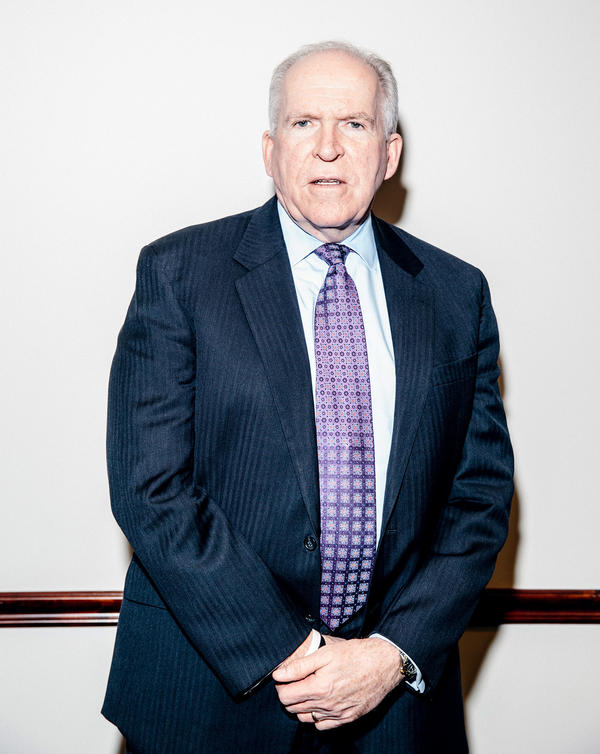 CIA Director John Brennan at CIA Headquarters on Thursday.