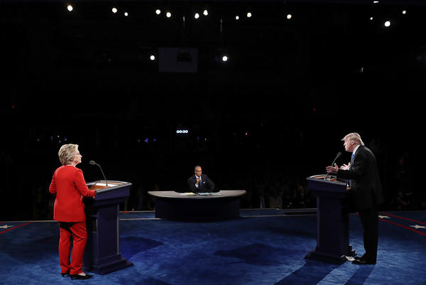 Our live fact check of the first debate between Trump and Democratic nominee Hillary Clinton set a new record for page views, at nearly 10 million.