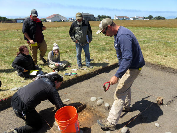 Southern Oregon University archaeology field school participants unearthed the remains of Miner's Fort in Curry County. The pioneer militia redoubt was besieged near the end of the Rogue River Indian War in 1856.
