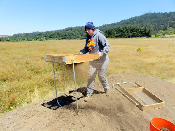 ''I thought that doing this would give me a really good insight into the war and give me both sides of the story,'' said University of Oregon archaeology student and Coos tribal member Courtney Krossman.