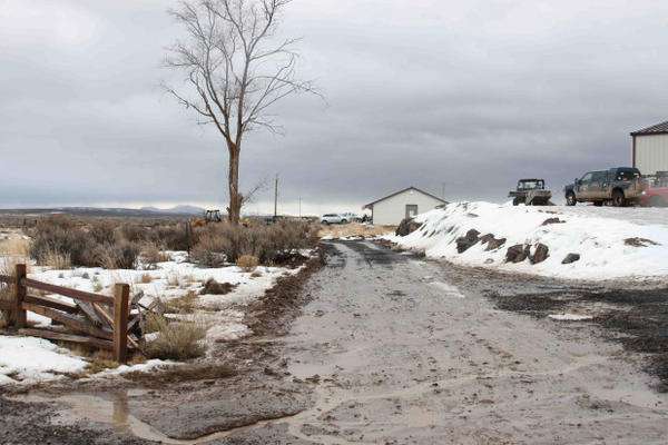 <p>The U.S. Fish and Wildlife Service confirmed that this road within the refuge complex is new construction.</p>