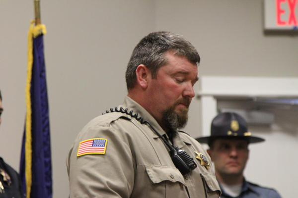 <p>Harney County Sheriff David Ward expressed his thankfulness for the patience and persistence of law enforcement and the community of Burns. The occupation of the Malheur National Wildlife Refuge ended Thursday, Feb. 11.</p>
