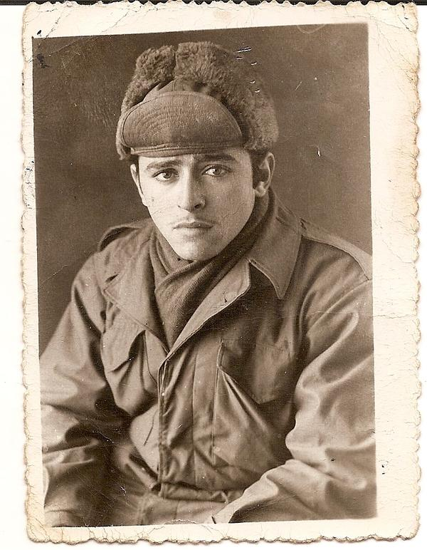 Efrain Santiago, grandfather of Frank Medina, was a Borinqueneer. (Courtesy of Frank Medina)