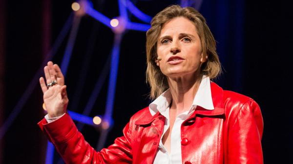 Director Holly Morris speaking at TED Global in 2013.