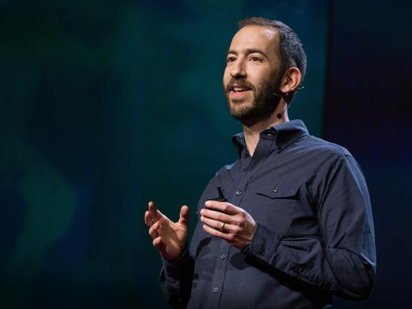 Jonathan Tepperman speaks at TEDSummit in 2016.