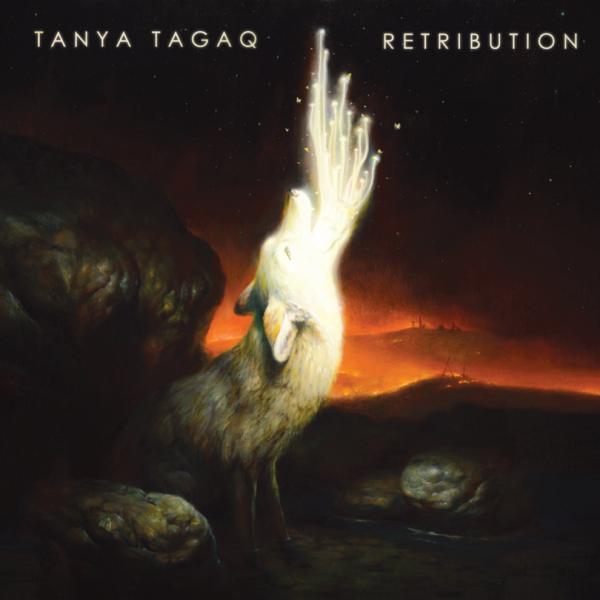 Tanya Tagaq, <em>Retribution </em>album cover<em></em>
