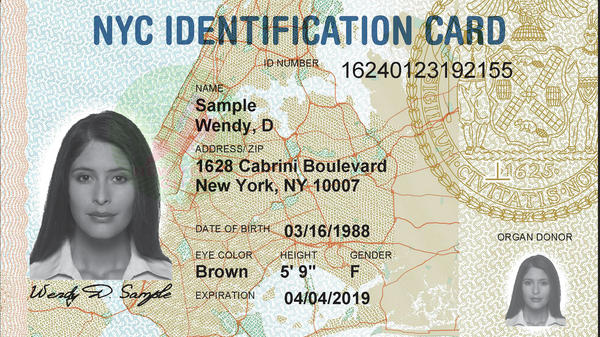 New York City has issued roughly  900,000 ID cards since last year.