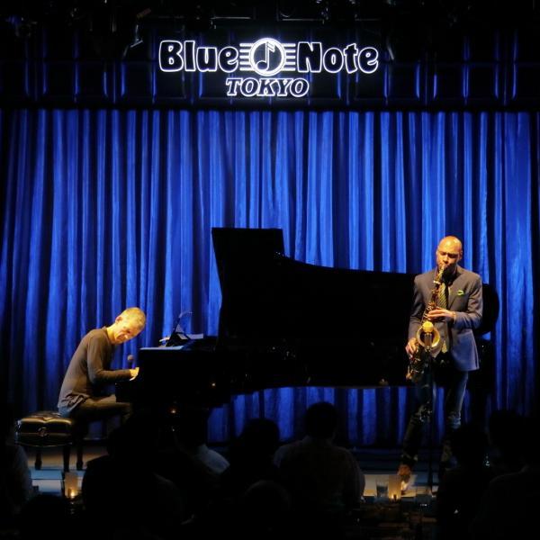 Joshua Redman and Brad Mehldau perform at Blue Note Tokyo on Oct. 13, 2016.
