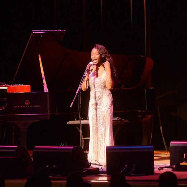 Buika performs at B.B. King Blues Club on Oct. 13, 2016.