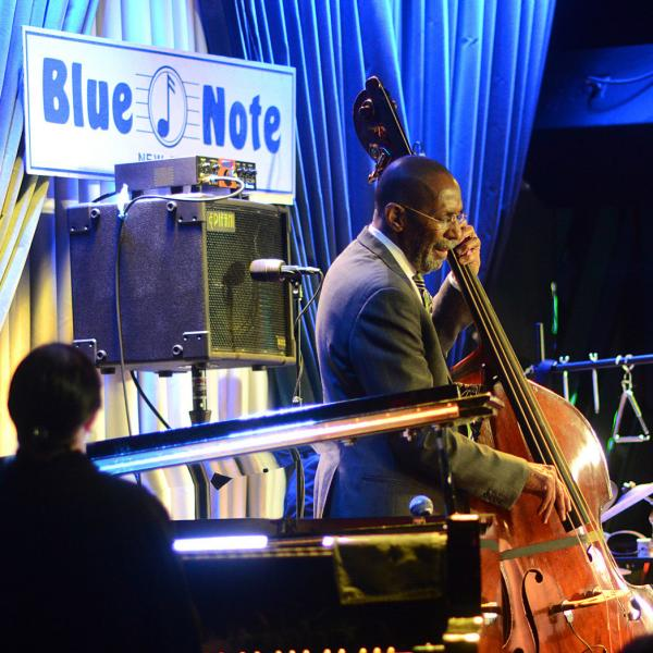 Ron Carter Trio at Blue Note New York on Nov. 28, 2016.