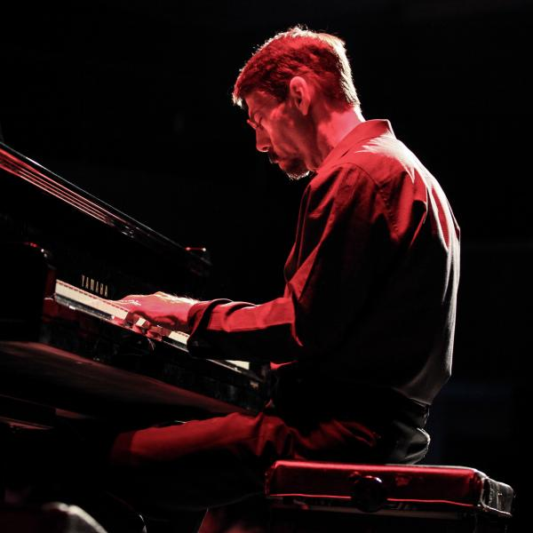 Fred Hersch performs at Blue Note Beijing on Oct. 28, 2016.