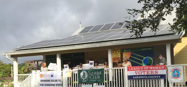 Sarasota residents and community groups celebrated the launch at the FL House Institute Wednesday morning.