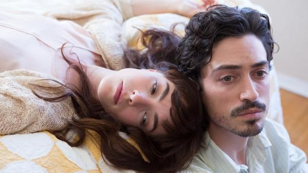 Joined At The Tragically Hip: Dianne (Olivia Thirlby) and Henry (Ben Feldman) in <em>Between Us</em>.