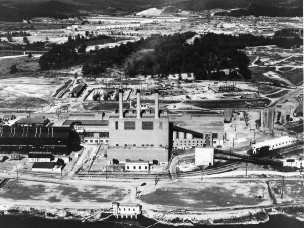 An archival view of Oak Ridge, Tenn. shows one of the three sites that has been included in the Manhattan Project National Historical Park.