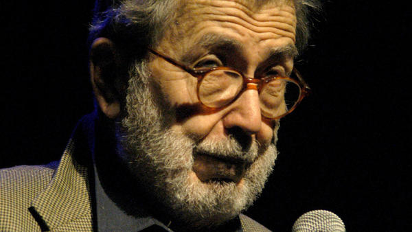 "Nat Hentoff during the annual ""A Great Night in Harlem"" Benefit Concert at The Apollo Theater in New York City."